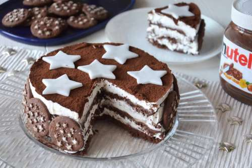 Ricette  Torta Pan di stelle