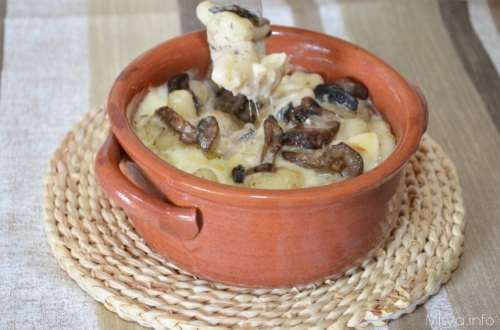 ricette Gnocchi ai funghi