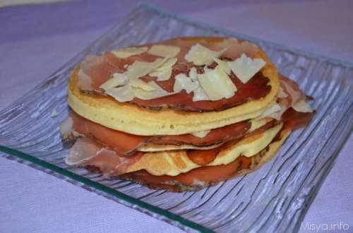 ricette Pancakes salati
