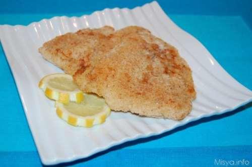 Filetti di pesce impanati al forno