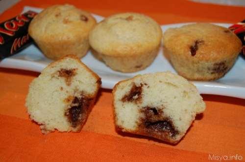 Muffin al cioccolato ricette Muffin al mars