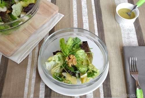 ricette Insalata di mele noci e grana