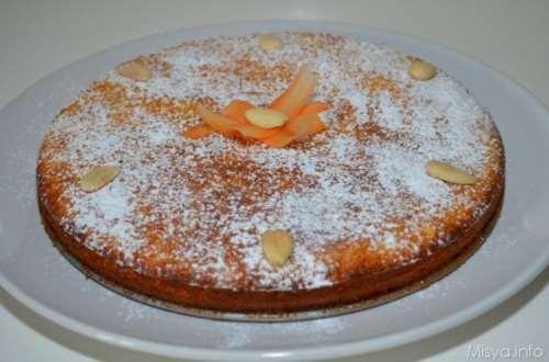 ricette Torta di carote e mandorle