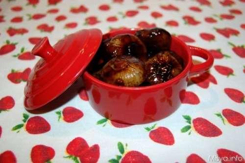 Antipasti ricette Cipolline in agrodolce bimby