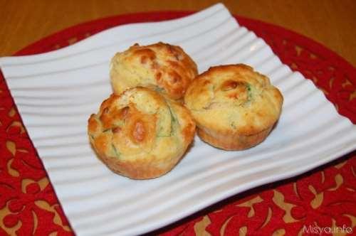 Ricette  Muffin salati al salmone