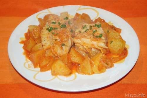 Ricette Secondi piatti Stoccafisso con patate