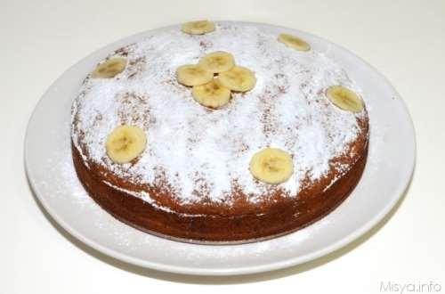 ricette Torta di banane e cioccolato