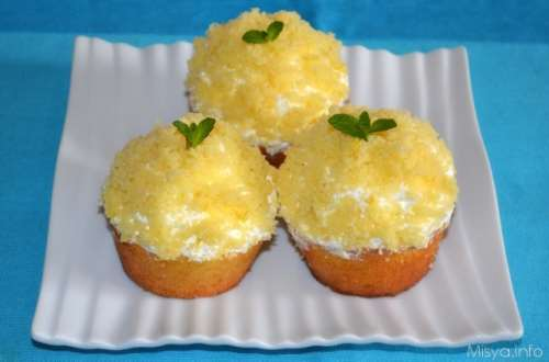Ricette  Cupcakes mimosa