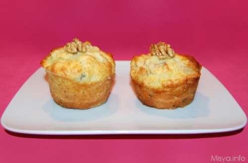 Rustici ricette Muffin pere e gorgonzola