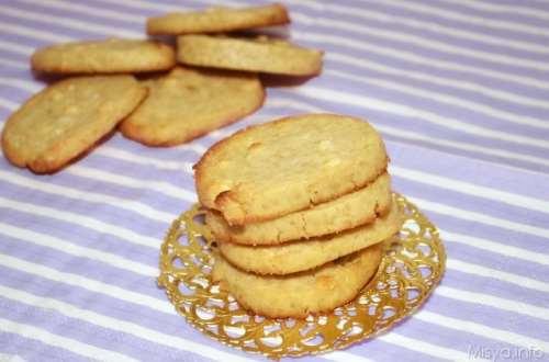 Ricette Biscotti Cookies al cioccolato bianco e mandorle