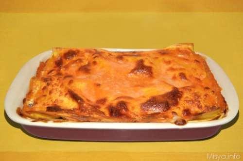 Pasta ricette Lasagne ai funghi e ricotta
