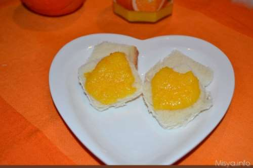 Creme ricette Orange curd