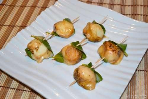 Secondi piatti ricette Provolette al limone