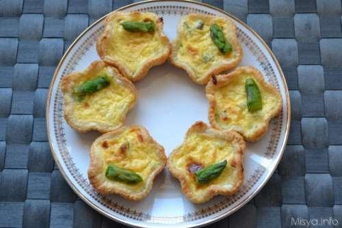 ricette Quiche agli asparagi