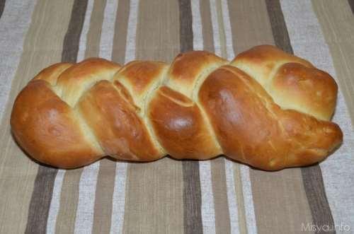 Pan brioches ricette Treccia di pan brioche ripiena