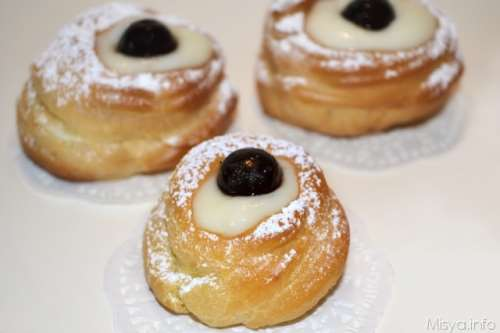 Zeppole di san giuseppe al forno