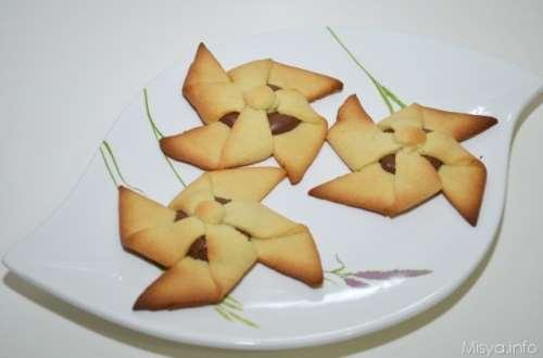 Biscotti ricette Girandole alla nutella