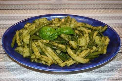 ricette Pasta con pesto patate e fagiolini