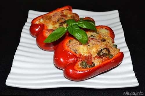 Ricette  Peperoni ripieni di cous cous