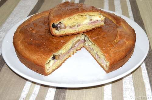 Ricette Torte salate Torta rustica ad impasto molle