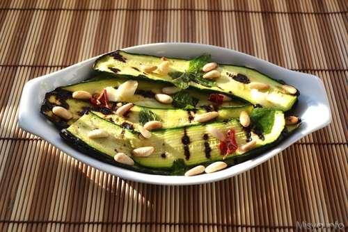 ricette Zucchine marinate