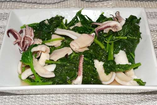 Ricette  Calamari con i friarielli