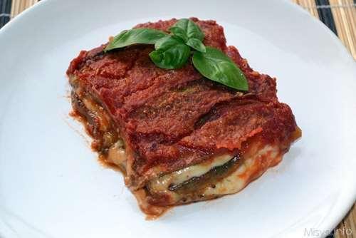 ricette Parmigiana di melanzane grigliate