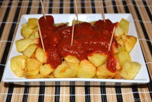 Contorni ricette Patatas bravas