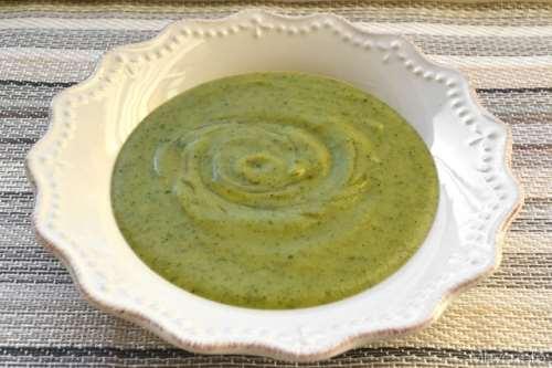 ricette Vellutata di zucchine