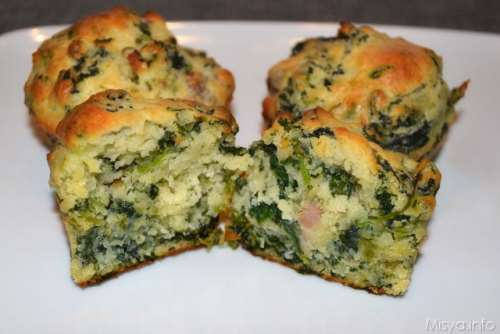 Ricette  Muffin salsiccia e friarielli