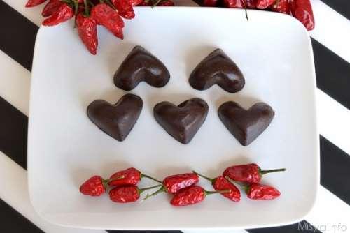 Ricette Cioccolatini Cioccolatini al peperoncino