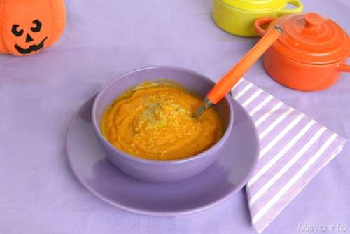 Ricette Minestre e zuppe Vellutata di carote e zucca