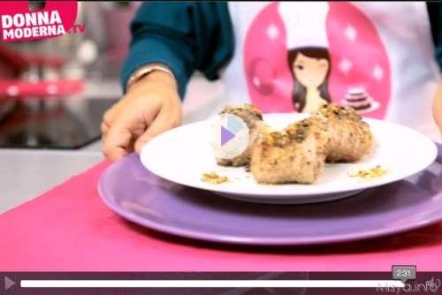 Ricette  Videoricetta involtini di pistacchi