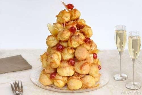 francesi ricette Croquembouche