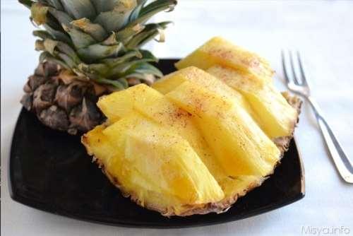 ricette Ananas al forno