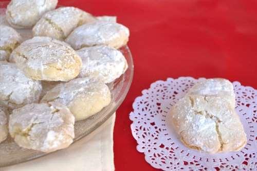 Ricette Piatti tipici toscani Ricciarelli