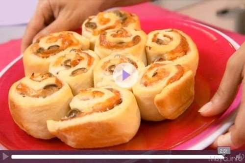 Videoricetta torta delle rose salata