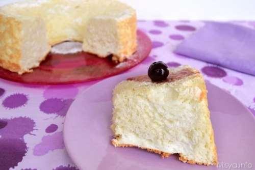 ricette Angel cake