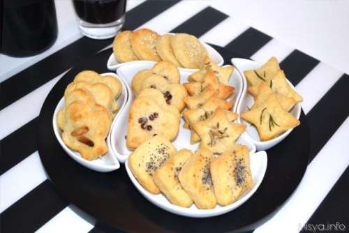 Finger food ricette Frollini al parmigiano