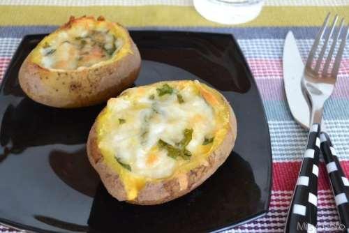 Antipasti ricette Patate ripiene al forno