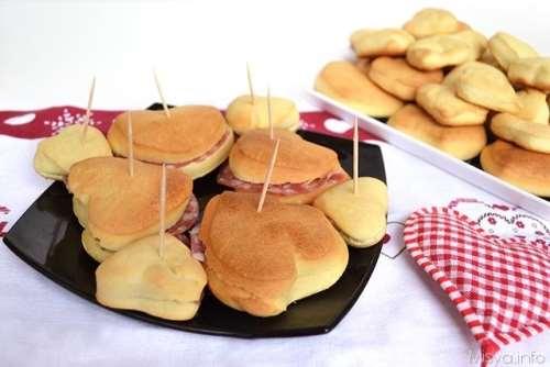 Finger food ricette Cuoricini di san valentino