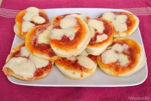 Ricette  Pizzette - La prima ricetta