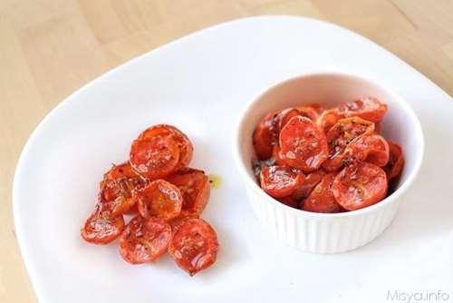 Ricette Contorni Pomodorini confit