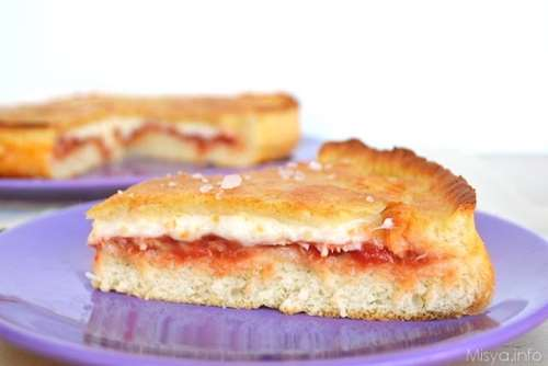 Pizze e Focacce ricette Focaccia ripiena con impasto di ricotta