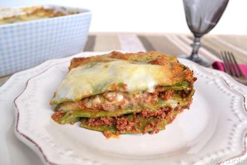emiliane ricette Lasagne verdi alla bolognese