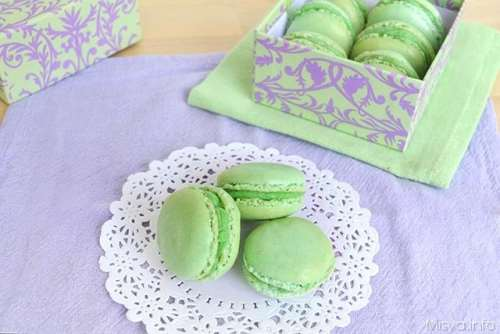 Ricette  Macarons ai pistacchi