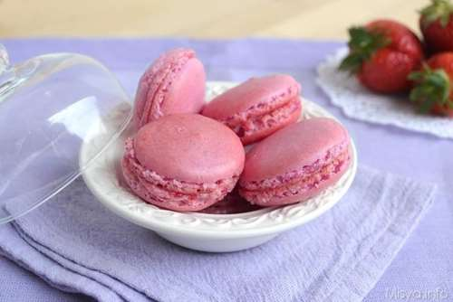 Macarons alle fragole