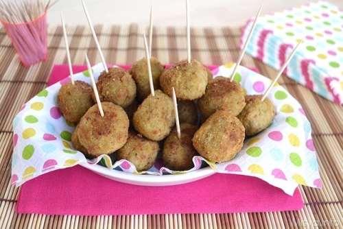 Ricette Secondi piatti Polpette di carne e olive