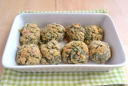 Secondi piatti ricette Polpette con spinaci e besciamella