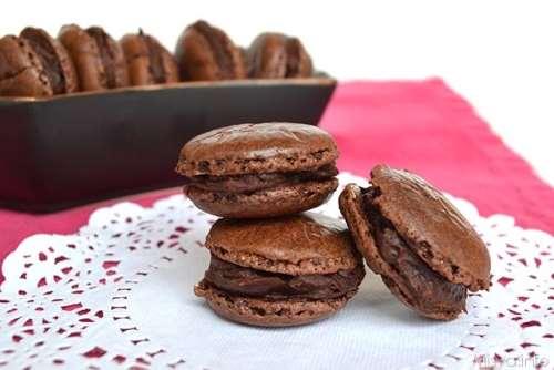 Ricette dal mondo Macarons al cioccolato